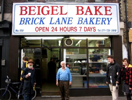 Bagel Bakery Brick Lane London