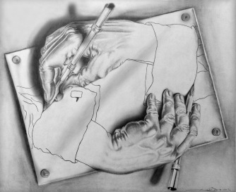 Escher_Illusions_Hands